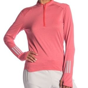 Adidas women M running response tee long sleeve